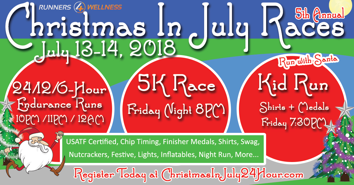 2018 Christmas in July Races