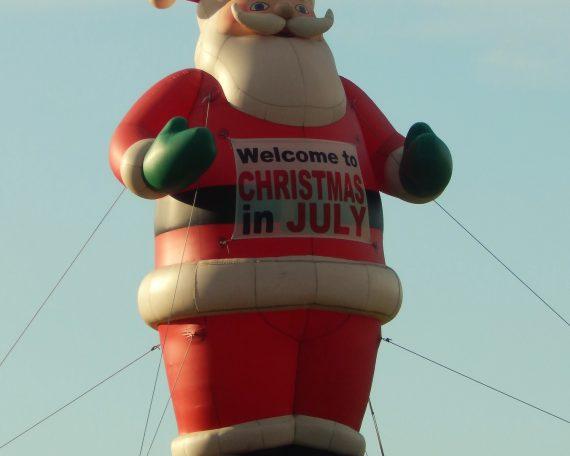 25' Inflatable Santa